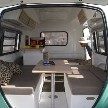 Gypsy Living Traveling in Style. Tour North America, keep it simple-be a happier camper. Road-trippin, rent or buy the HC1. Buzz-Worthy What's the buzz...This ultra light travel trailer is modern, chic, and buzz-worthy. Happier Camper was like art in the park at a recent-SoCal RV show..Design  Happier Camper- Ultra-light Micro-caravan-travel trailer-2016-17. With Happier Camper you design your caravan's interior. Modular styling-make a Happier Camper with a custom caravan. serafiniamelia.me