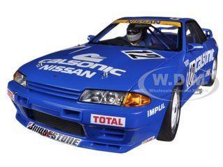 diecastmodelswholesale - Nissan Skyline GT-R (R32) Group A 1990 Calsonic