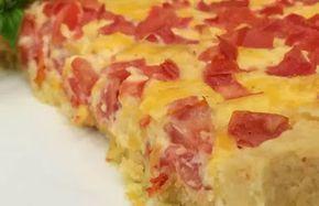 Torta de Tomate do Mais Você (gosto de pizza e cara de quiche)