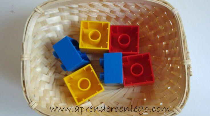 Lego Duplo - Caja color nº1 - Montessori #legoduplo