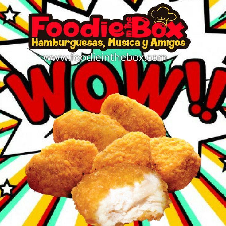 #FoodieInTheBox Prueba nuestros Nuggets y Boneless de pollo. http://foodieinthebox.com/