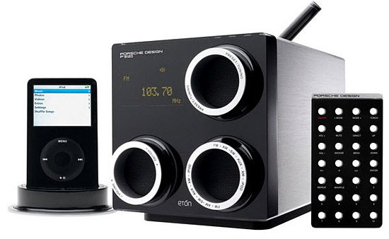 Porsche design ipod dock