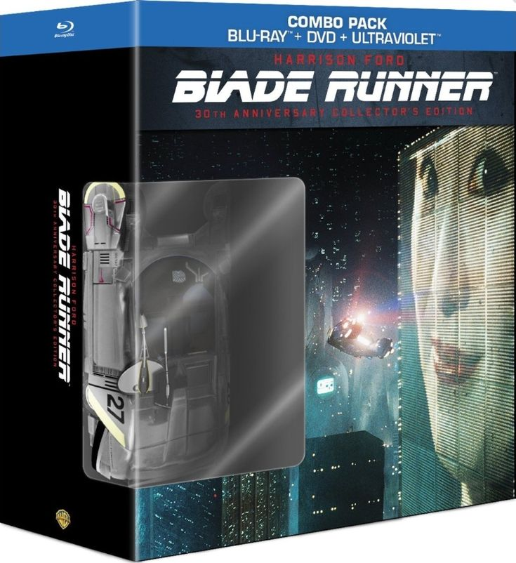 Blade Runner en coffret blu-ray collector 30ème anniversaire: Blu Ray, Combos Pak, Bluray, Collector Editing, Bd Dvd Uv Combos, Runners 30Th, Anniversaries Collector, 30Th Anniversaries, Blade Runners
