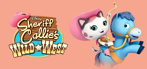 Visit the Sheriff Callie's Wild West website to watch videos and print coloring pages.