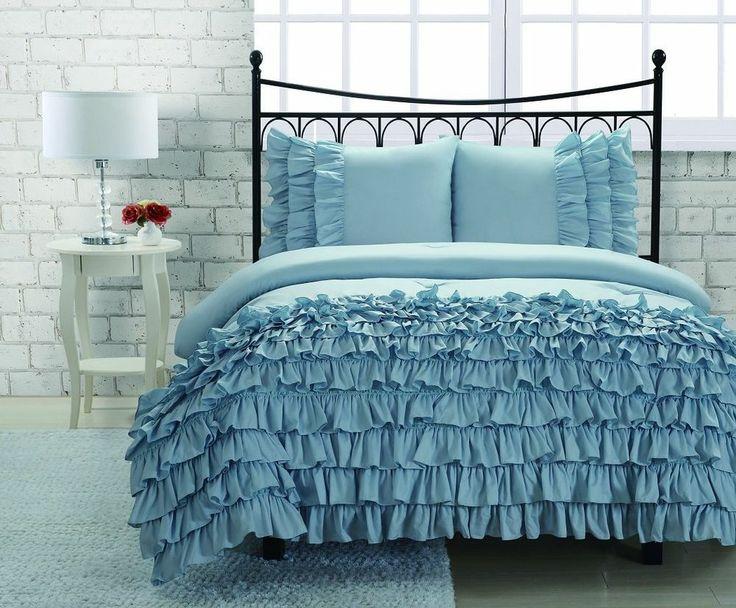 Best 25 Ruffled Comforter Ideas On Pinterest Ruffle