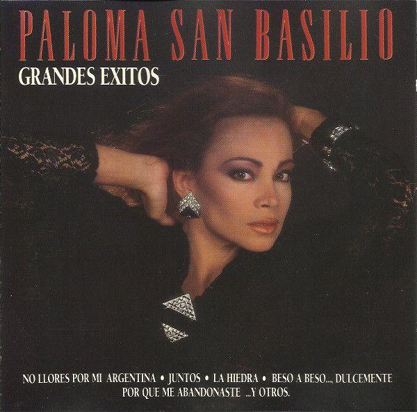 Grandes éxitos Paloma San Basilio 1987 Llorar Caratulas De Musica Portadas