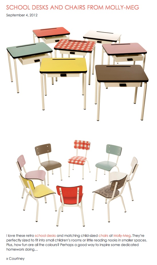 super cool 39 old school 39 desk and chair for kids little spaces pinterest chairs the o 39 jays. Black Bedroom Furniture Sets. Home Design Ideas