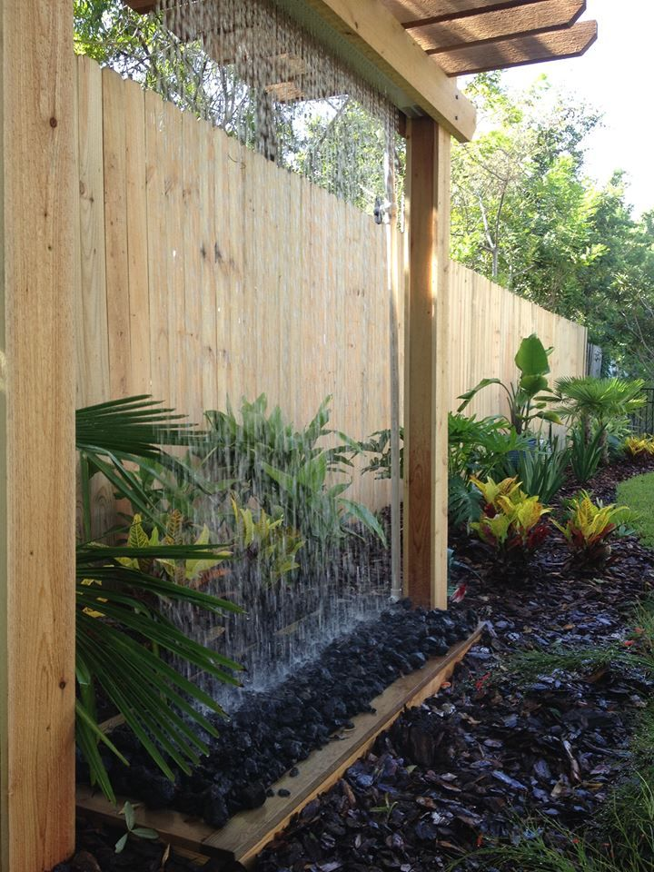 Rain Curtain Water Fountains Outdoor Fountains Outdoor Water