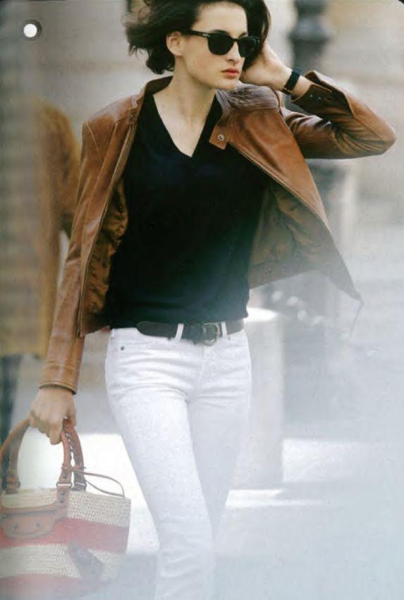 Кожаная куртка в базовом гардеробе