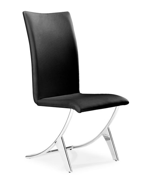 Furniture Canada — Dining room furniture by Zuo Modern | Delfin Dining Chair Black