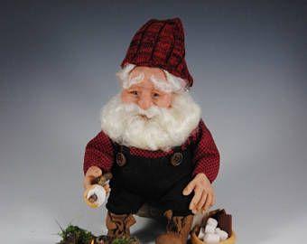 """Fantasía arte muñeca / muñeca de hadas / OOAK Elf / fantasía muñeca, muñeca hecha a mano, muñeca de Elf, """"S ' Mores el elfo"""""""