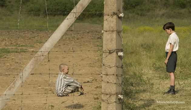 The Boy in the Striped Pyjamas - Publicity still of Asa Butterfield & Jack Scanlon