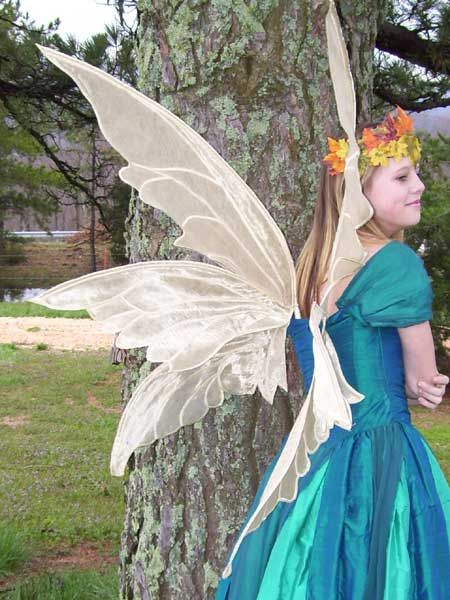PATTERN and tutorial for Adult fairy wings by enchantedcostumes