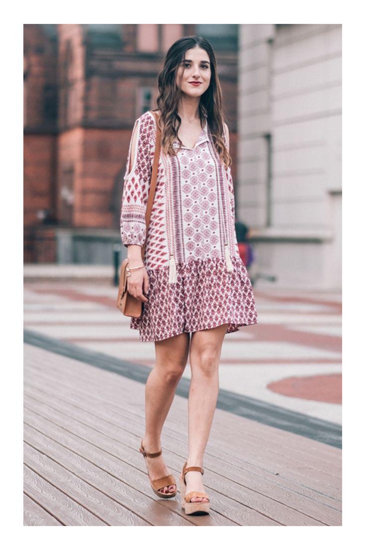 Mejores 14 imágenes de Vestidos Boho en Pinterest   Moda bohemia ...