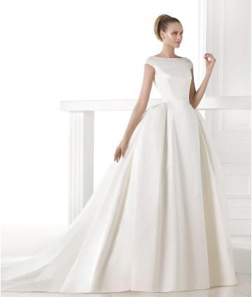 Áčkový střih Bez rukávů Empírové Svatební šaty 2015
