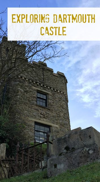 Exploring Dartmouth Castle in Devon - a day out for families at an English Heritage attraction in South Devon, UK. The Castle dates back to 1388 and sits on the entrance of the River Dart with the English Channel