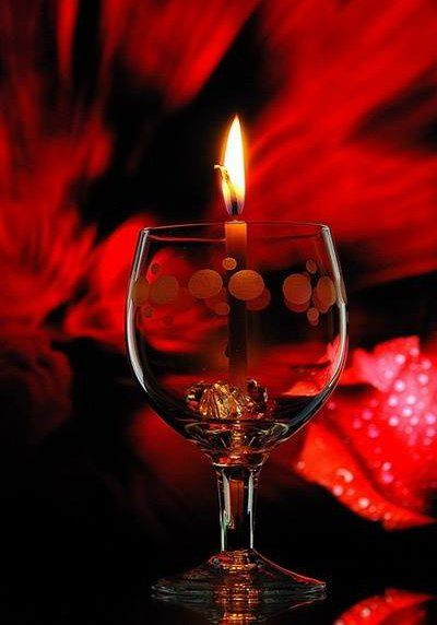 487 best valentine 39 s images on pinterest chandeliers Best candles for romantic night