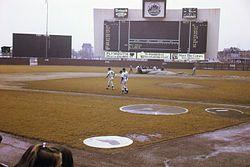 Shea Stadium (New York). September 1969
