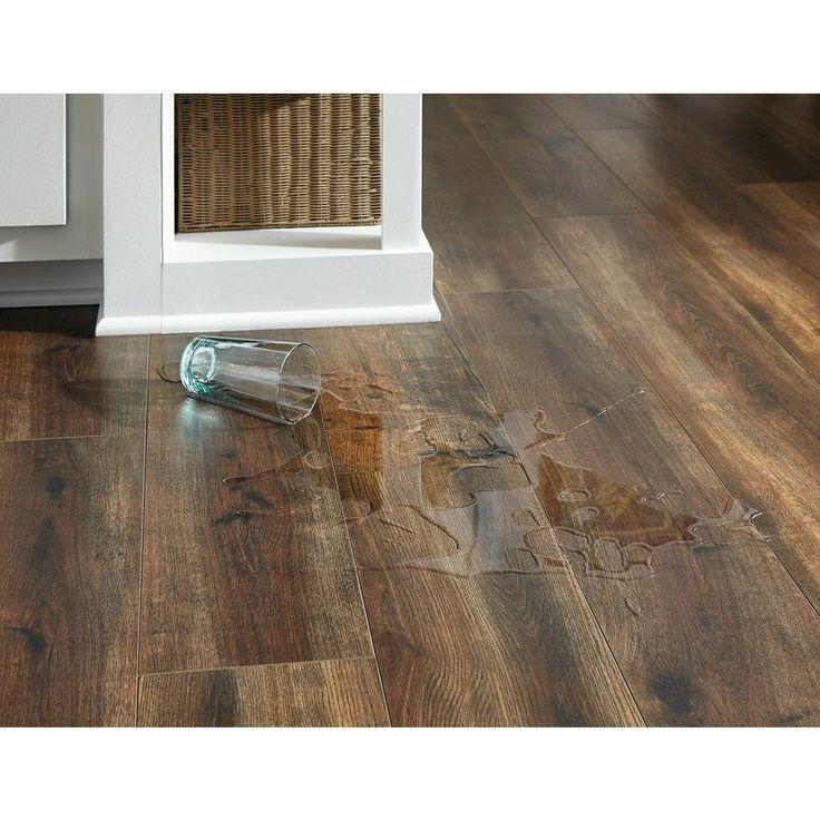 Flooring For Basement AquaGuard Coco Water-Resistant