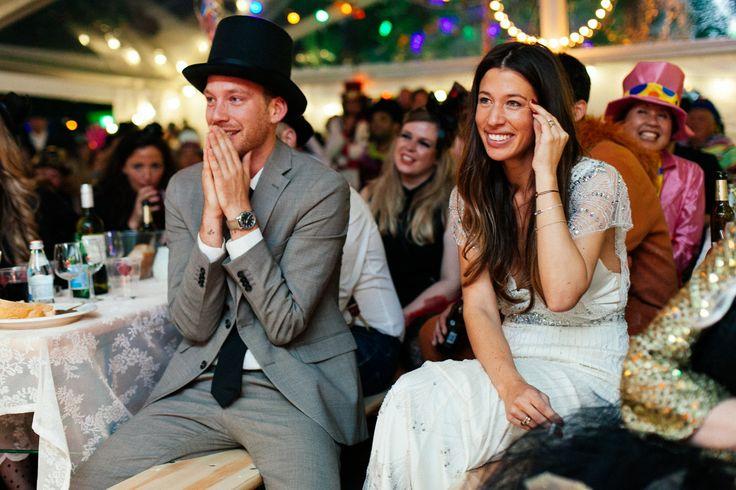 www.bridesbible.nl #festivalbruiloft #circusthema #bruiloft #trouwerij #huwelijk Claire Timmermans & Wichard Slootheer bruiloft 2014