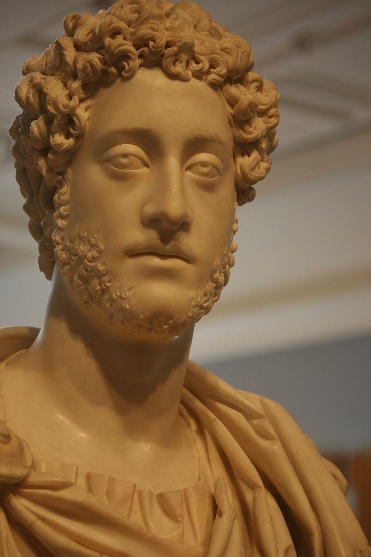 Bust of Emperor Commodus (The Getty Commodus), Roman, A.D. 180-185, Getty Villa, Malibu, California, USA.2