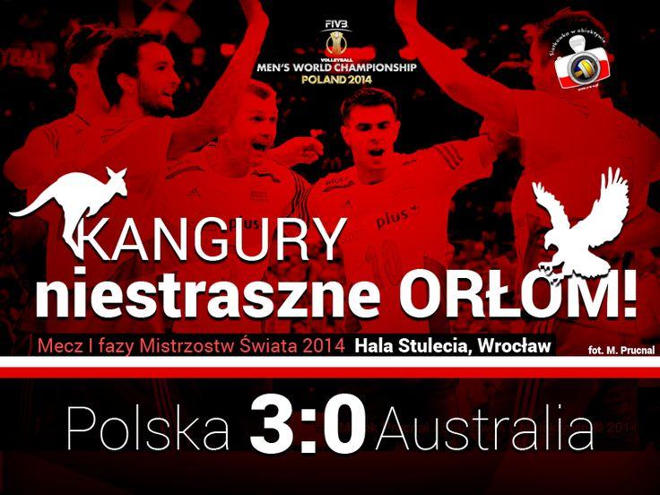 Statystyki po meczu Polska – Australia | Siatkówka w Obiektywie
