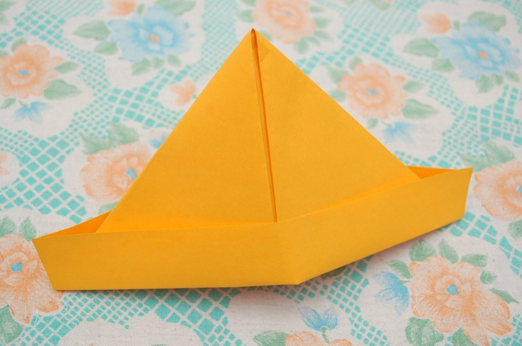 How to Make a Paper Captain's Hat