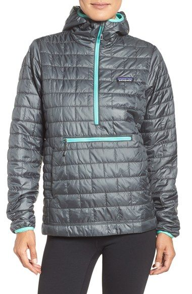 Free shipping and returns on Patagonia Nano Puff® Bivy Water Resistant Jacket at Nordstrom.com. Protect yourself from the elements while moving freely in this light, quilted pullover coated with a durable water-repellent finish. The weather-resistant ripstop shell is also environmentally conscious, thanks to recycled fabric and partially recycled PrimaLoft® insulation that's warm and compressible for easy packing.