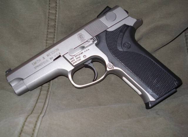 Smith Wesson 5946 9mm RCMP issue service pistol