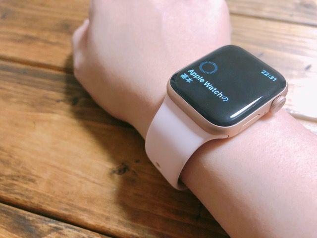 apple watch 5 レビュー
