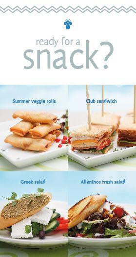 Schon Zeit fürs Mittagessen? Denken Sie, Alianthos Garden Snackbar! Unsere neue Snack-Menü verspricht die Energie, die Sie brauchen Ihnen anzubieten.  Is it time for Lunch? Think Alianthos Garden Snack Bar! Our new snack menu promise to give you all the power you need.  Είναι ώρα για μεσημεριανό γεύμα; Σκεφτείτε το Alianthos Garden Snack Bar! Το νέο μας μεσημεριανό μενού υπόσχεται να σας προσφέρει όλη την ενέργεια που χρειάζεστε.  www.alianthos.gr - info@alianthos.gr