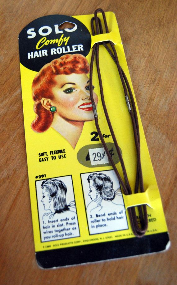 Vintage Solo Hair Roller