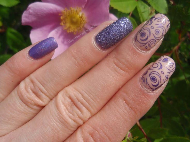 Essie Spin The Bottle, ILNP Charmingly Purple, ILNP Purple Plasma, IsaDora Purple Crush