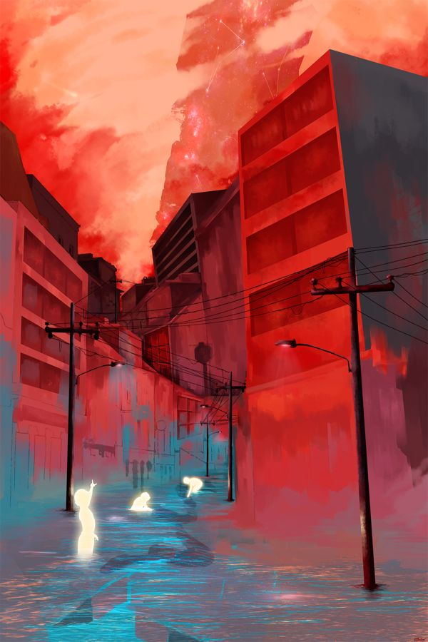 Children of the red night on Behance