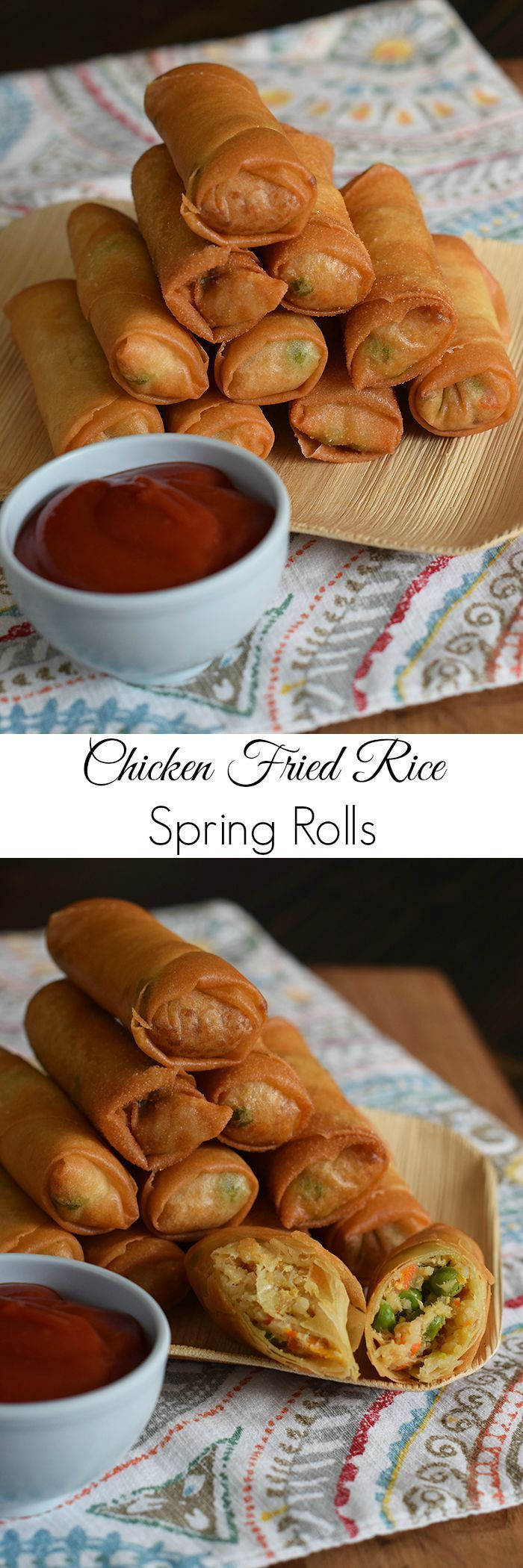 67 best egg rolls images on pinterest cooking food chinese food chicken fried rice is one of my favorite things to order when we go out to eat now we make it at home thanks to my husbands delicious recipe forumfinder Choice Image