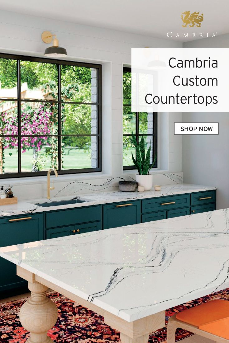Costco Members Who Are In And Out Of The Kitchen Deserve An Easy To Clean Space American Made Utilizing Natural Q Custom Countertops Kitchen Renovation Home