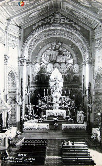 VIRGEN MARIA AUXILIADORA Hacia 1945