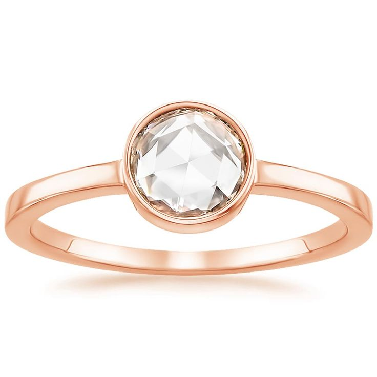 14K Rose Gold, Rosebud Diamond Ring (1/2 ct. tw.)  -  love, love, love this ring!  the warmth of the rose gold looks really good with the diamond, and i like the setting.  any diamond size would work.  want this!  remember, because someday i'm buying it!!   lj