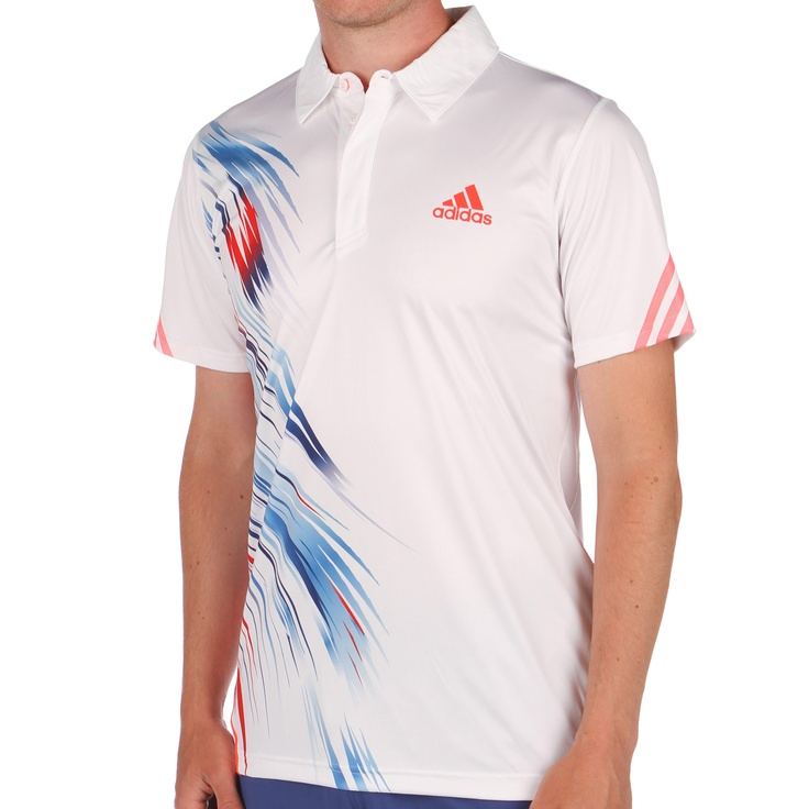 Adidas Jo-Wilfried Tsonga adizero Theme Polo