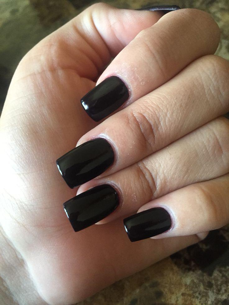 black square acrylic nails - photo #3