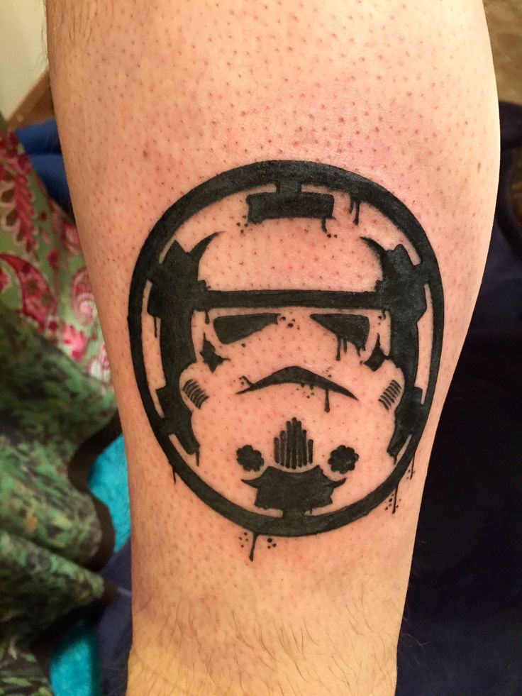 Star Wars Stormtrooper tattoo