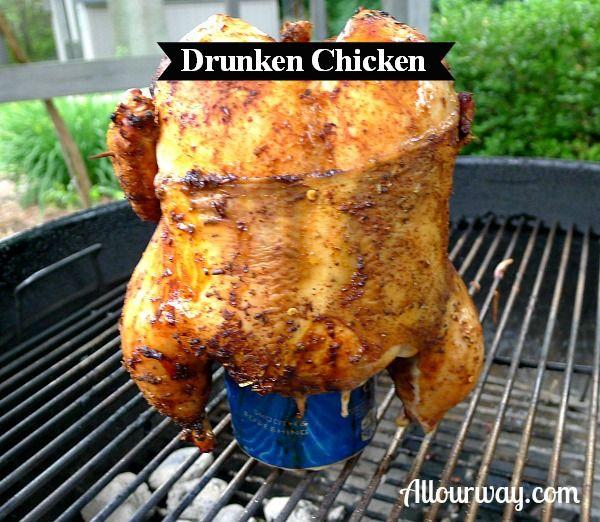 Drunken Chicken with Marinated Tomatoes Over Creamy Orzo { Pollo Ubriaco Con Pomodori Marinati Oltre Orzo Cremoso} -