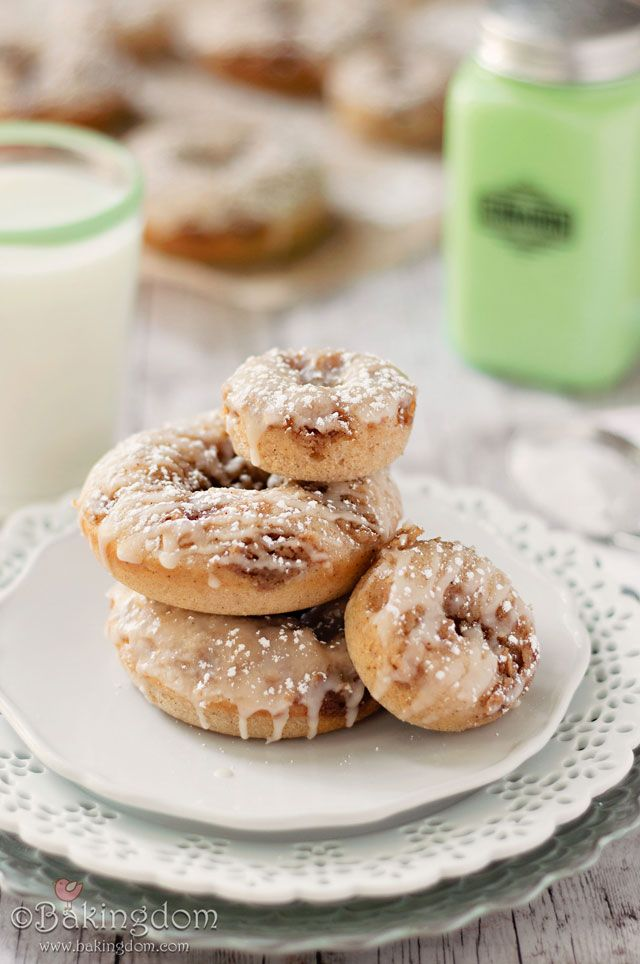 Maple French Toast Doughnuts by Bakingdom