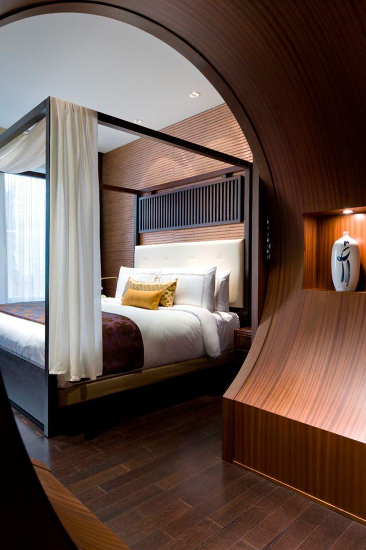 Moon Gatein the Shangri-La suite, Toronto - designed by CHIL Interior Design