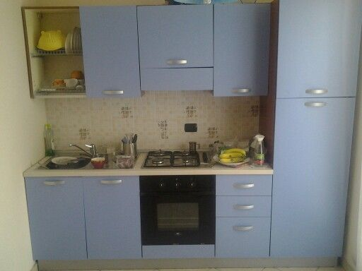 Cucina mercatone uno dotata di forno e frigo classe b for Mobile lavello cucina mercatone uno