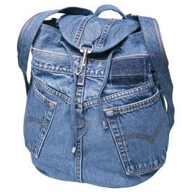 Denim Jeans Packpack