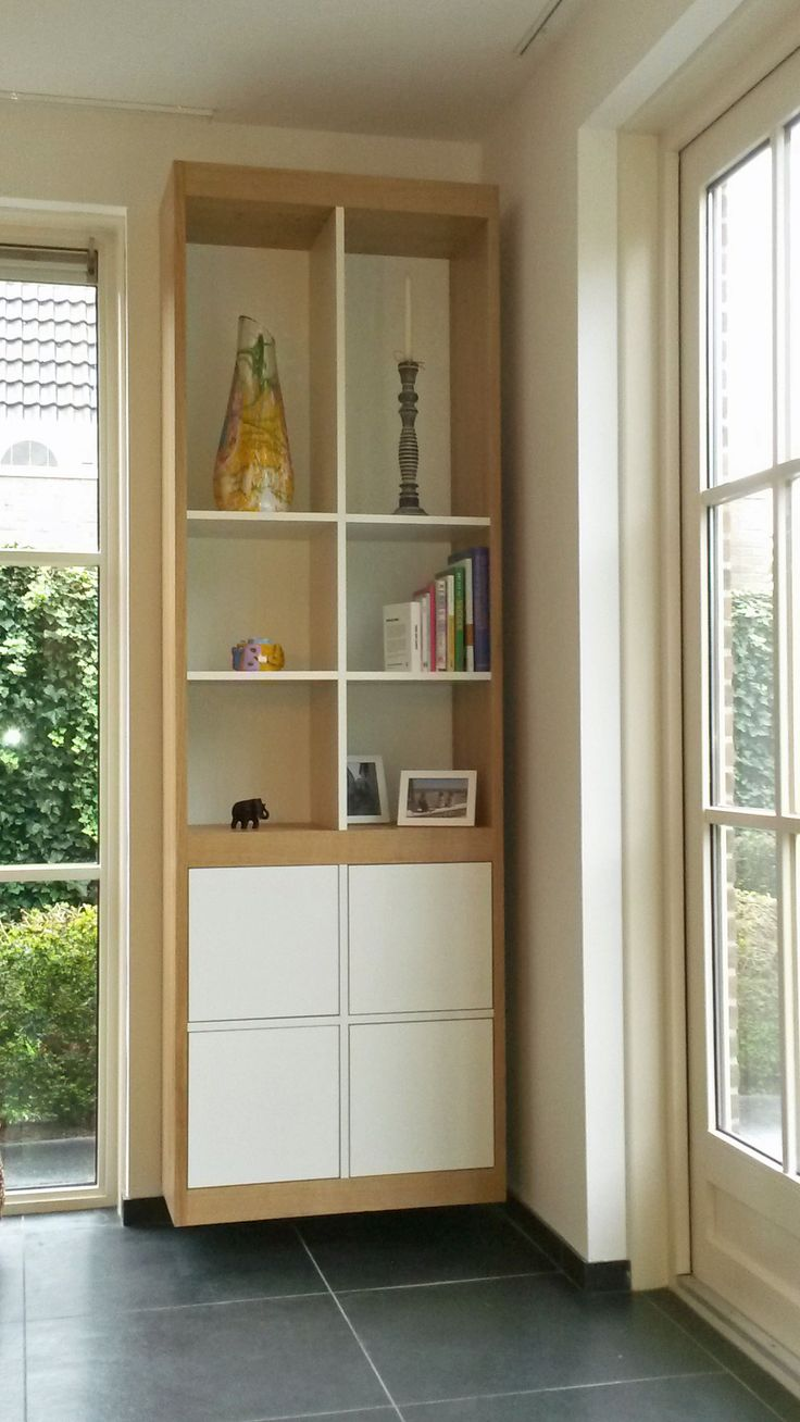 """From an idea of the customer redesigned free hanging cupboard SANDRA. Made by """"HANS"""". (www.hansknepper.nl)"""