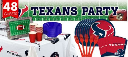 NFL Houston Texans Party Supplies - Party City