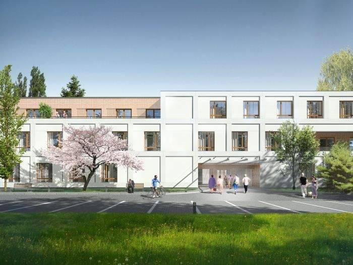 Concept Design For A Nursing Home In Konstancin Jeziorna