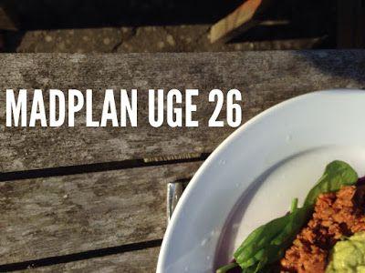 Paleolivet: Paleolivets madplan uge 26 - for en sjovere, nemme...